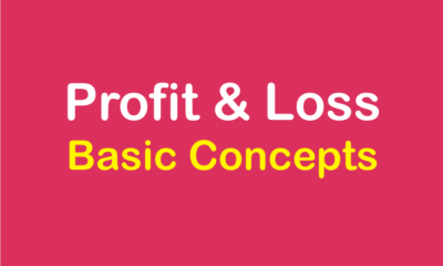 Concept of Profit and Loss