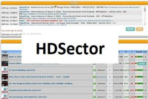 HDsector Proxy sites 2021