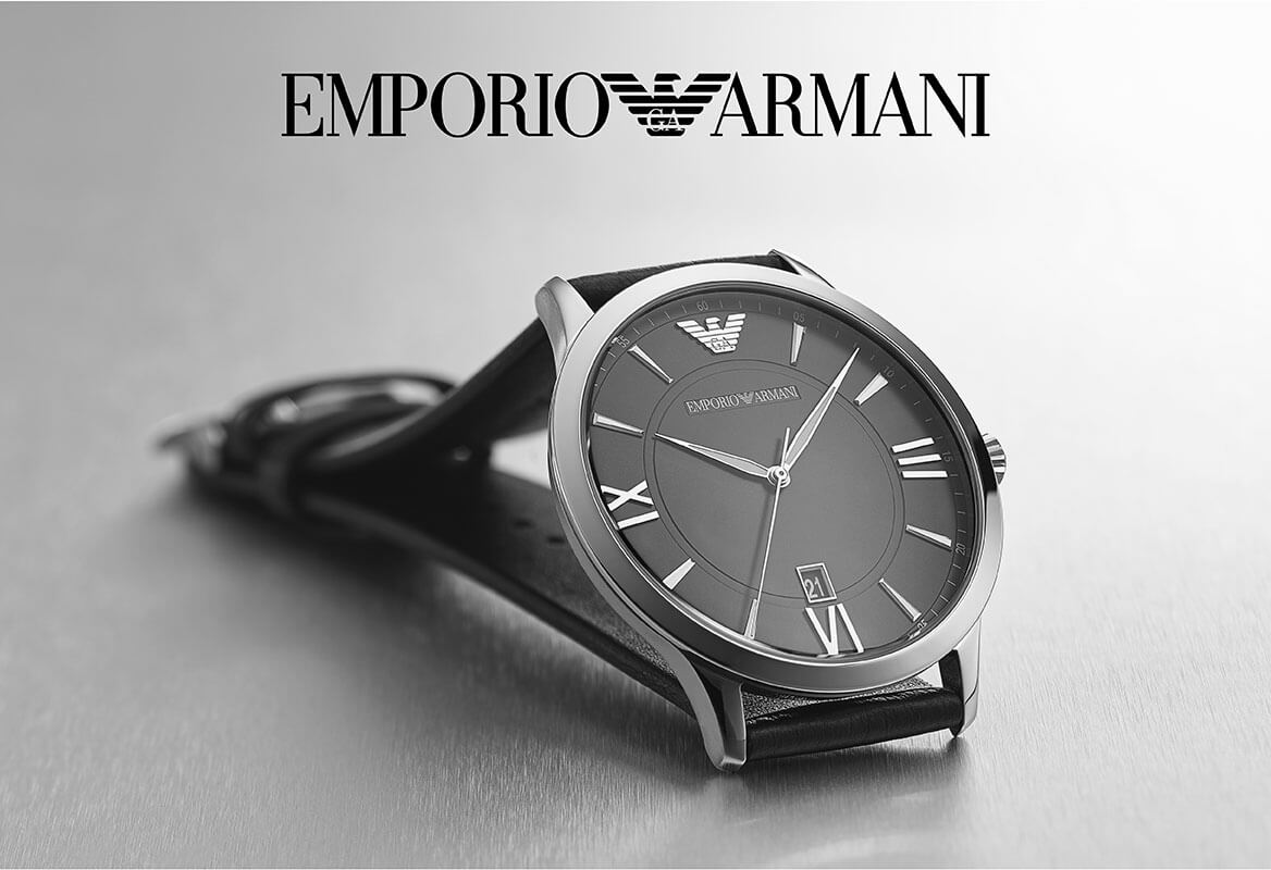 Emporio Armani: Check Out This Classy Men's Watch!