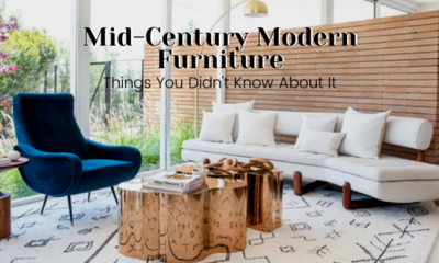 7 reasons why Mid-century modern furniture is popular