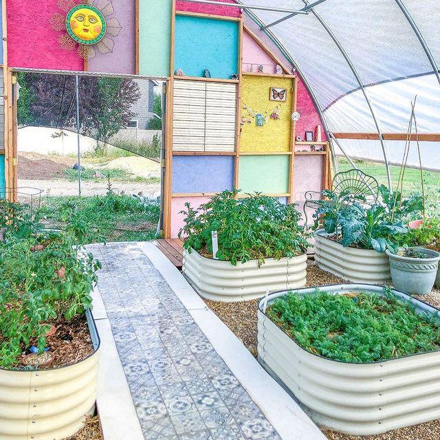 metal raised garden beds