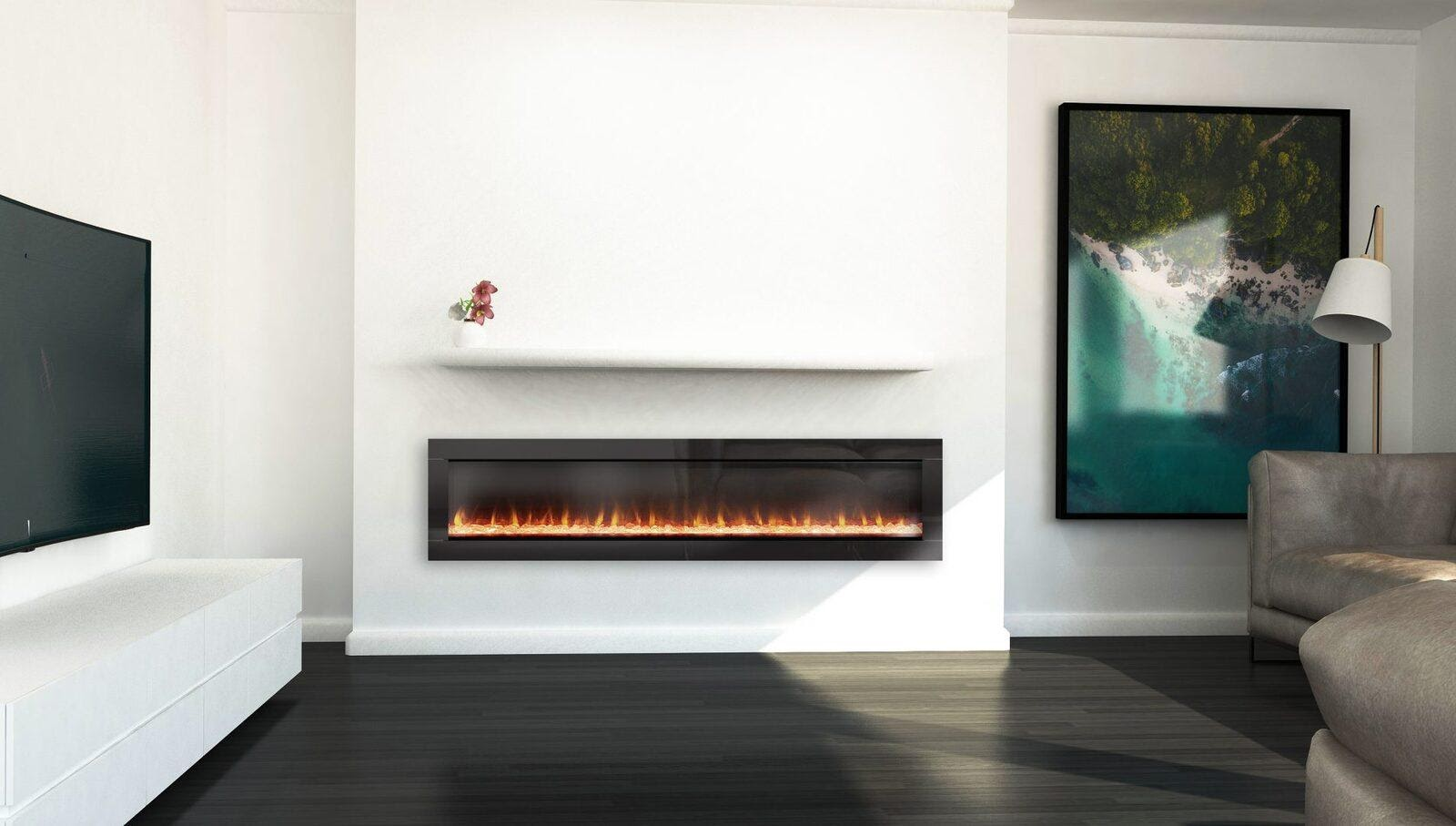Some Cozy Advantages Of An Electric Fireplace